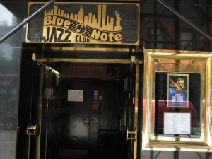 The outside of the Blue Note.